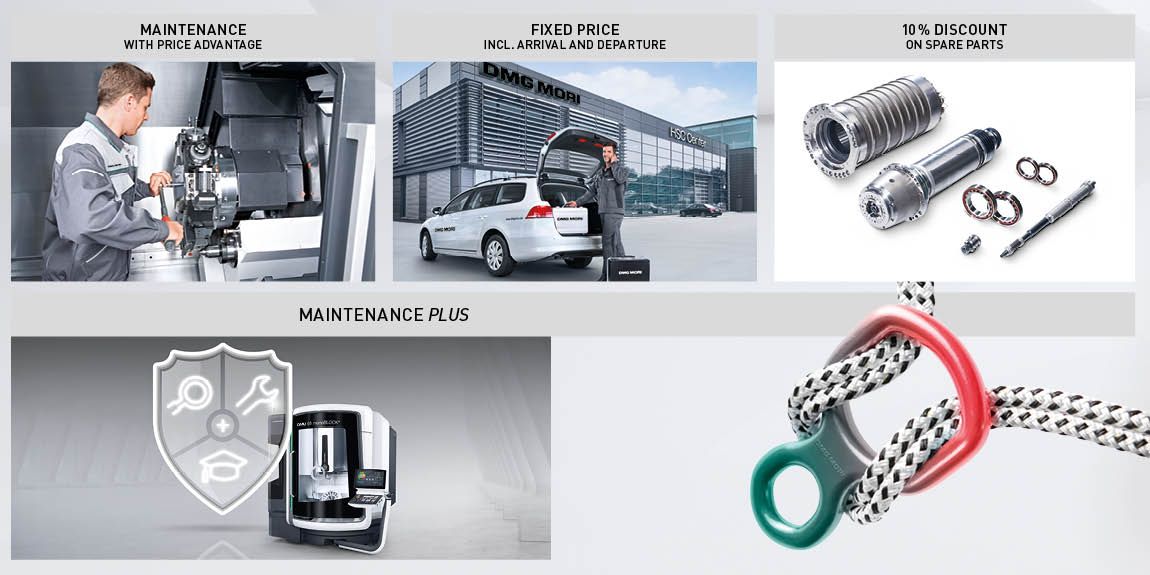 DMG MORI's Maintenance Plus Program